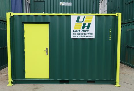 Unit Hire shipping container