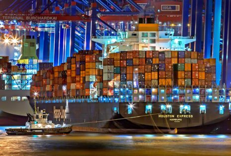 Container ship resize