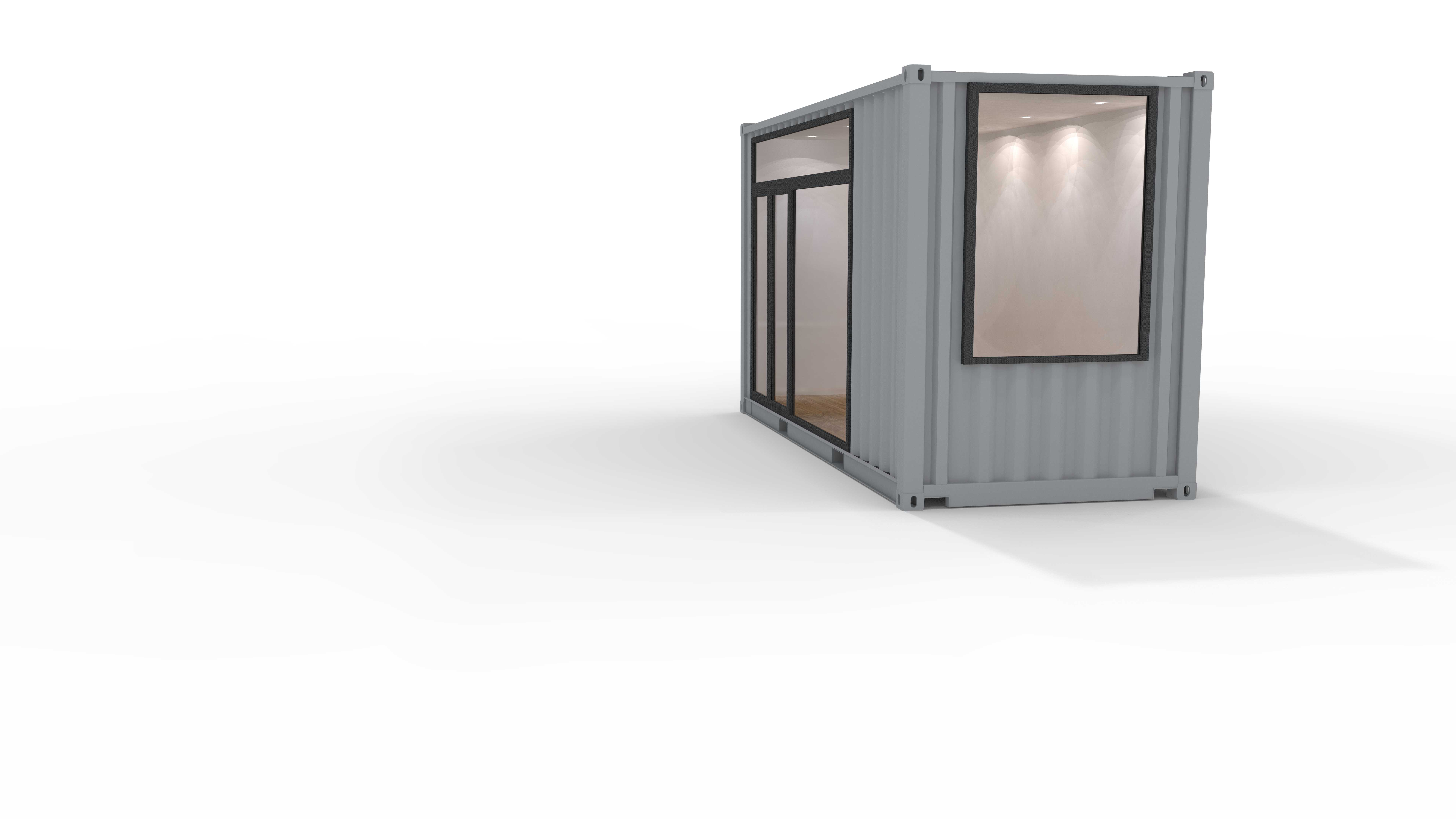 shipping container conversion design image