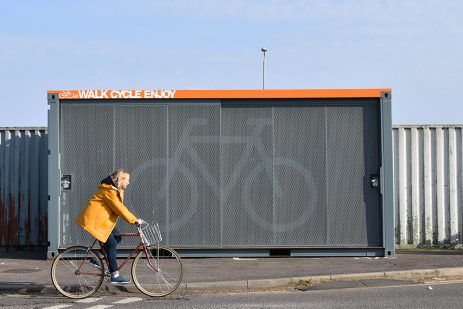 Unit Hire in partnership with Cyclehoop