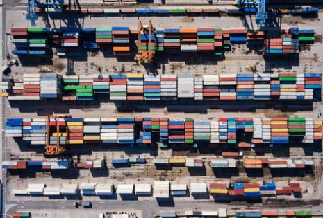 container depot from above