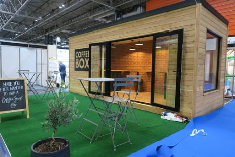Creating a shipping container cafe: A Unit Hire Case Study