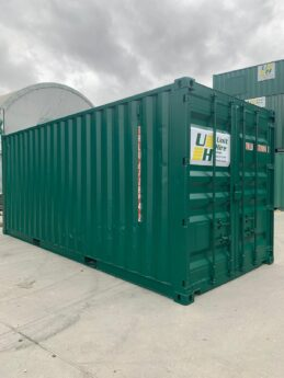 Used 20ft Store - Green 2